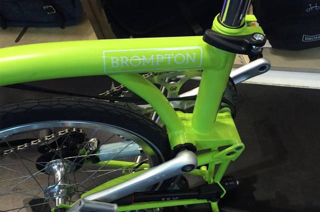 brompton bisikletler